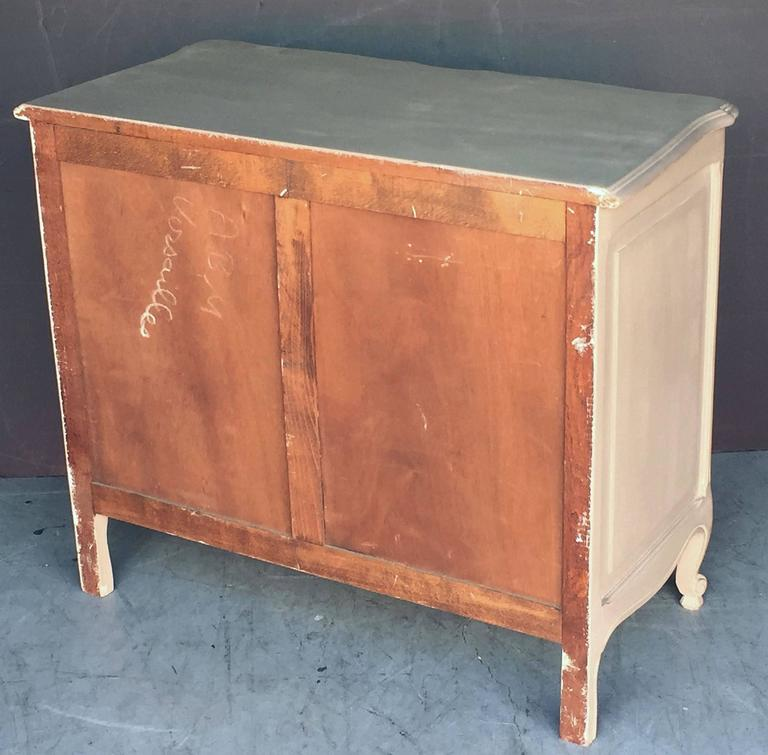 Painted French Chest of Drawers For Sale 5