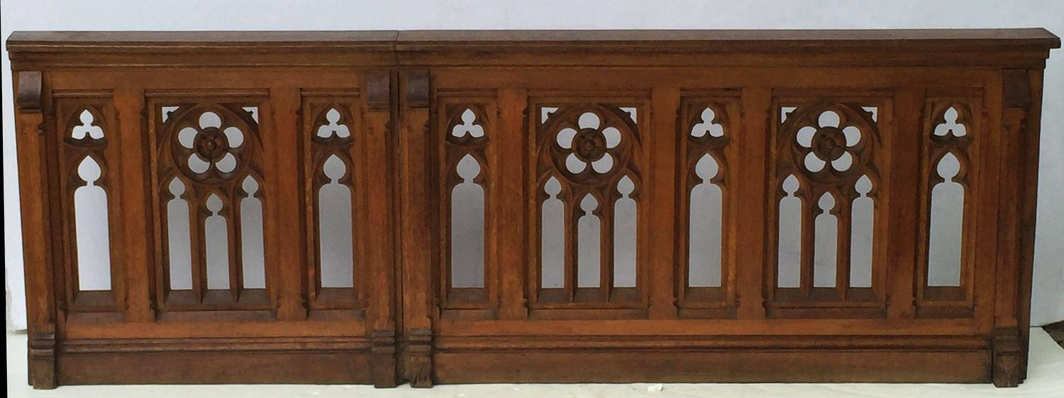 French Gothic Balustrades or Architectural Baluster ...