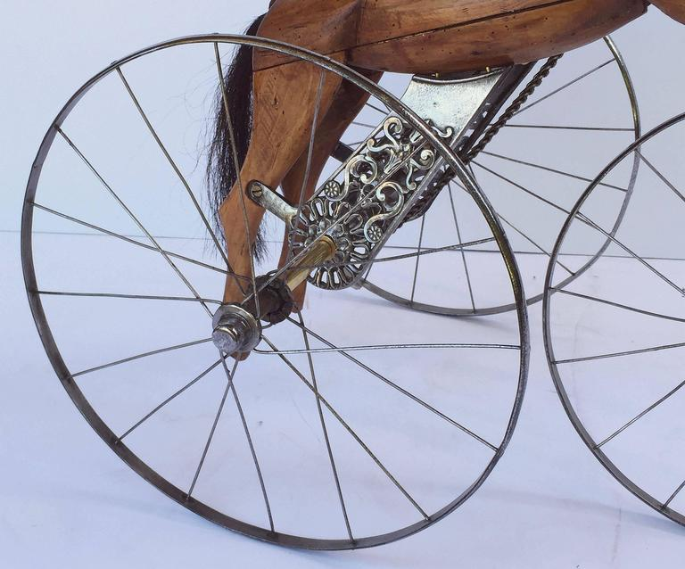 French Velocipede or Child's Horse Tricycle 9