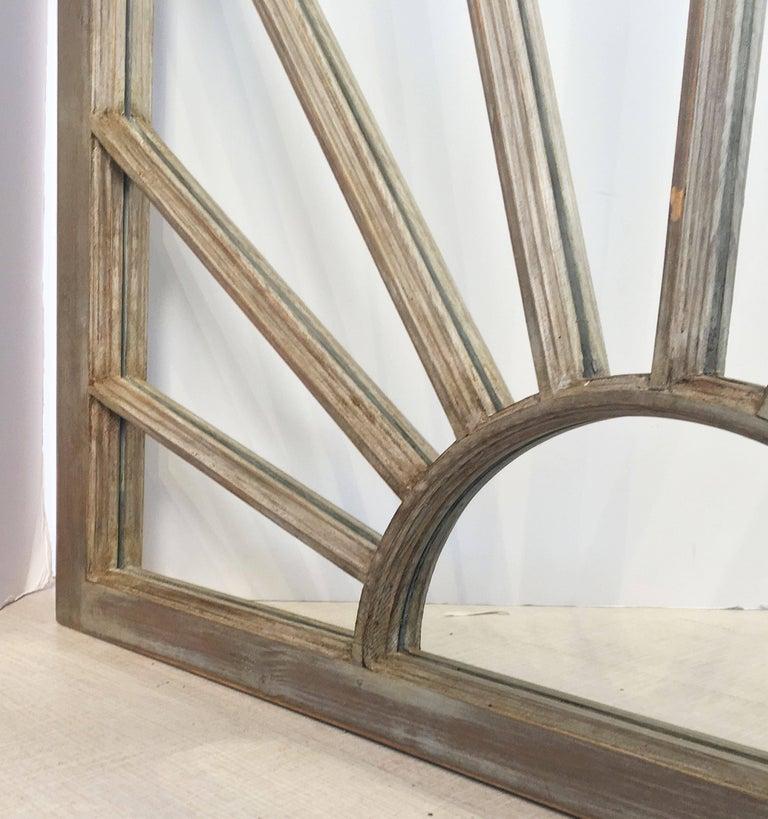English Rectangular Grey Frame Mirrors (H 48 3/4 x W 35 3/4) For Sale 3