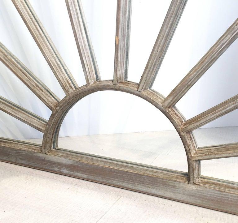 English Rectangular Grey Frame Mirrors (H 48 3/4 x W 35 3/4) For Sale 1