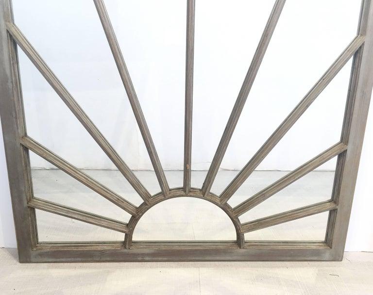 English Rectangular Grey Frame Mirrors (H 48 3/4 x W 35 3/4) For Sale 4