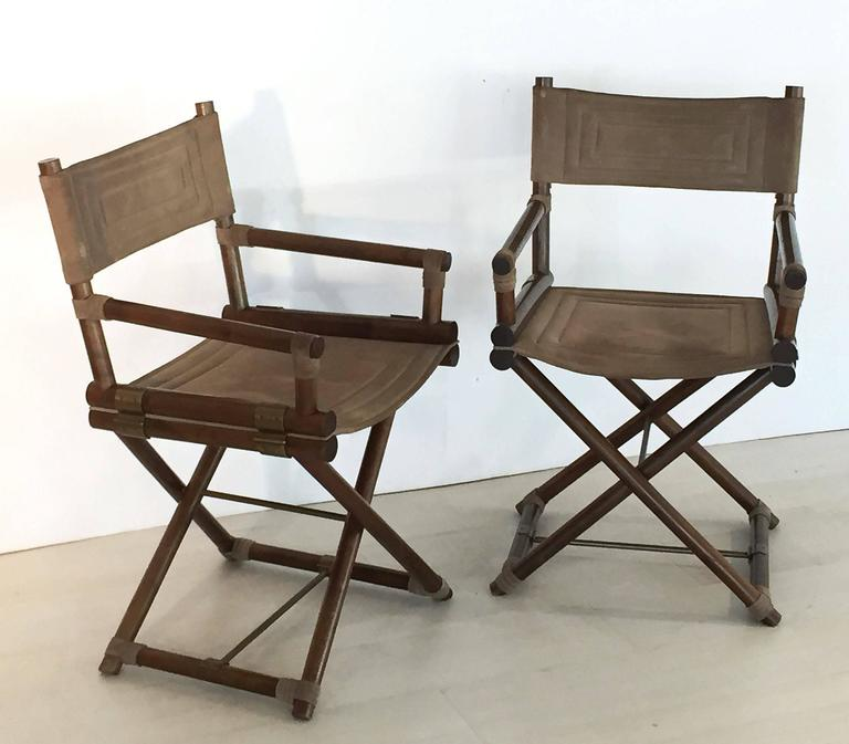 Italian Director's Chairs 'Individually Priced' In Excellent Condition For Sale In Austin, TX