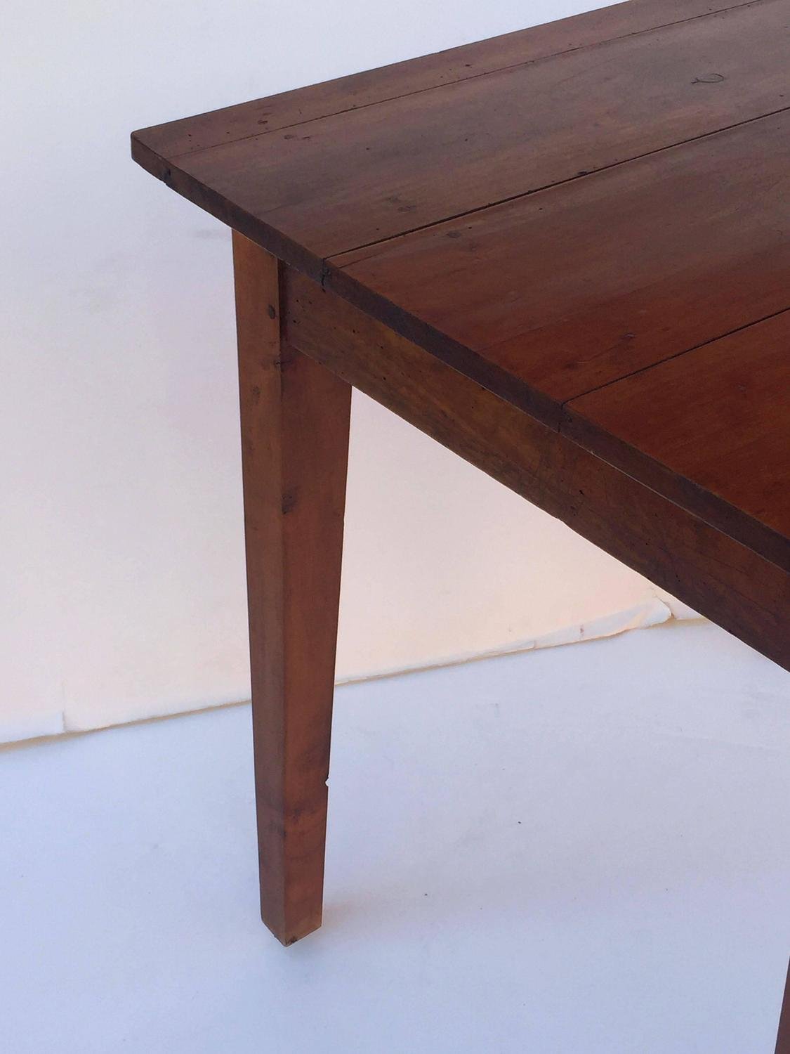 French cherry side table with drawer at 1stdibs for Cherry side table