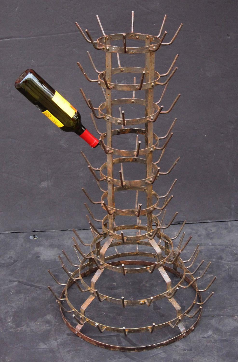wine bottle trees how to make