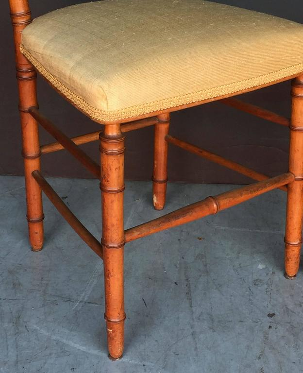 Pair of Faux Bamboo Chairs 9