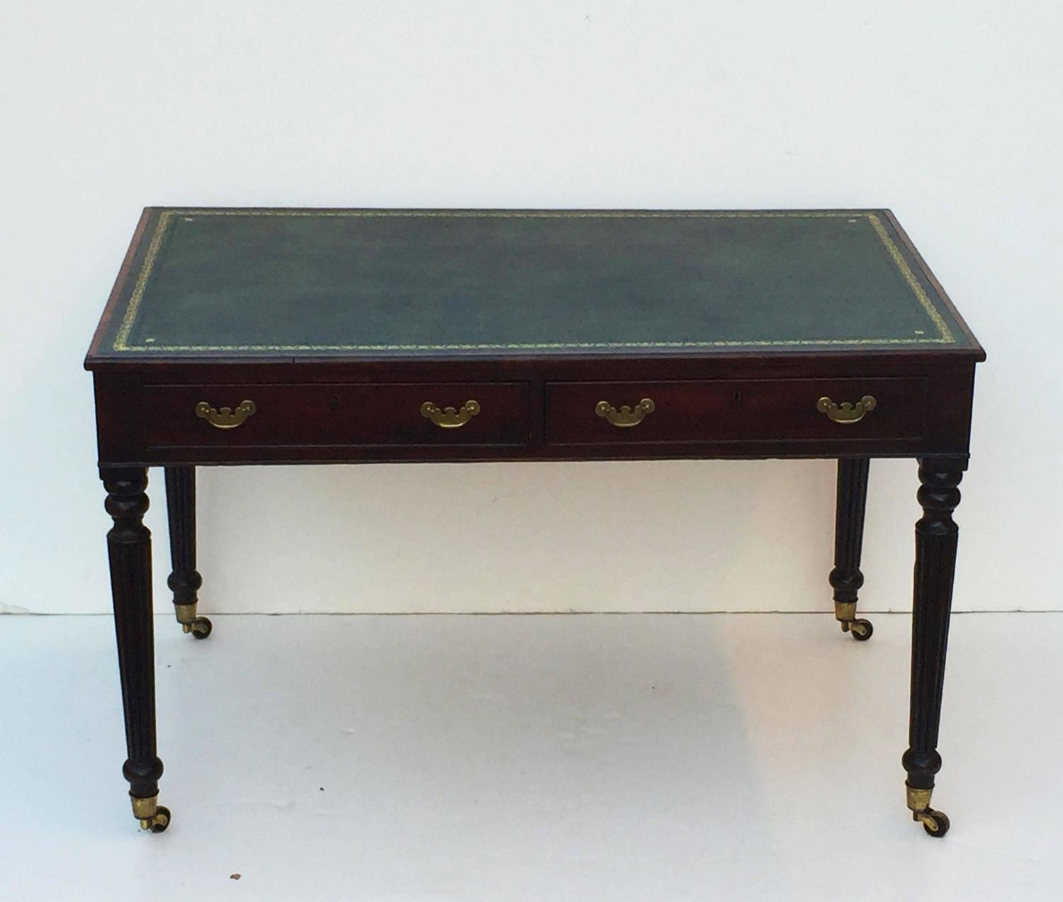 #5C4E38 Large English Partner's Writing Table Or Desk At 1stdibs with 1500x1273 px of Best Large Writing Table 12731500 image @ avoidforclosure.info