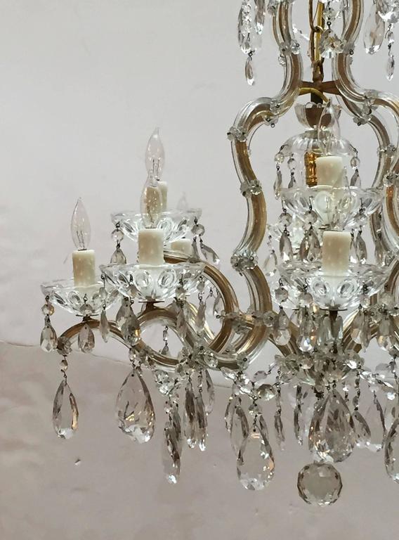 Metal Large Maria Theresa Seventeen-Light Chandelier (29