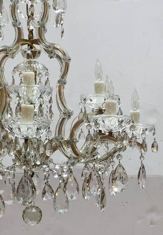 Large Maria Theresa Seventeen-Light Chandelier (29