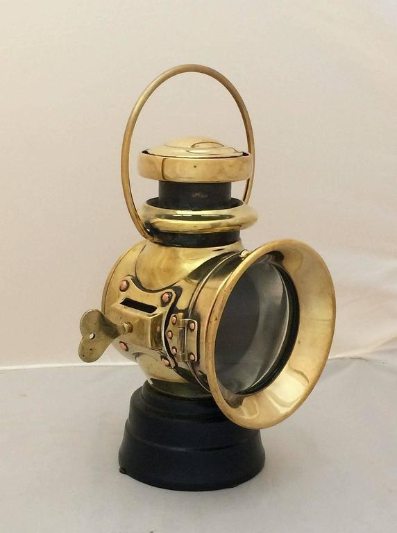English Automobile Front Oil Lamp By Joseph Lucas Ltd At