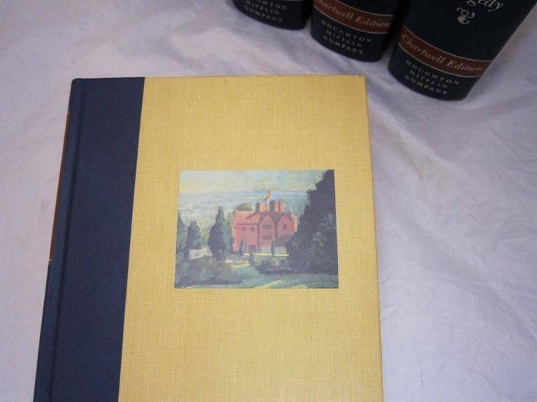 """20th Century """"The Second World War,"""" Chartwell Edition by Winston Churchill For Sale"""