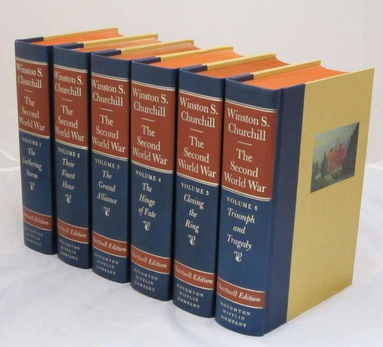 """""""The Second World War,"""" Chartwell Edition by Winston Churchill For Sale 4"""