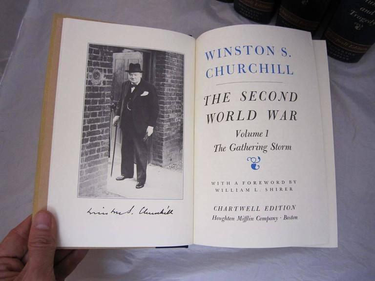 """""""The Second World War,"""" Chartwell Edition by Winston Churchill For Sale 2"""