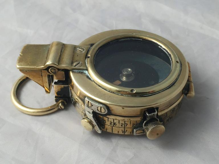 british wwi marching compass with leather case at 1stdibs