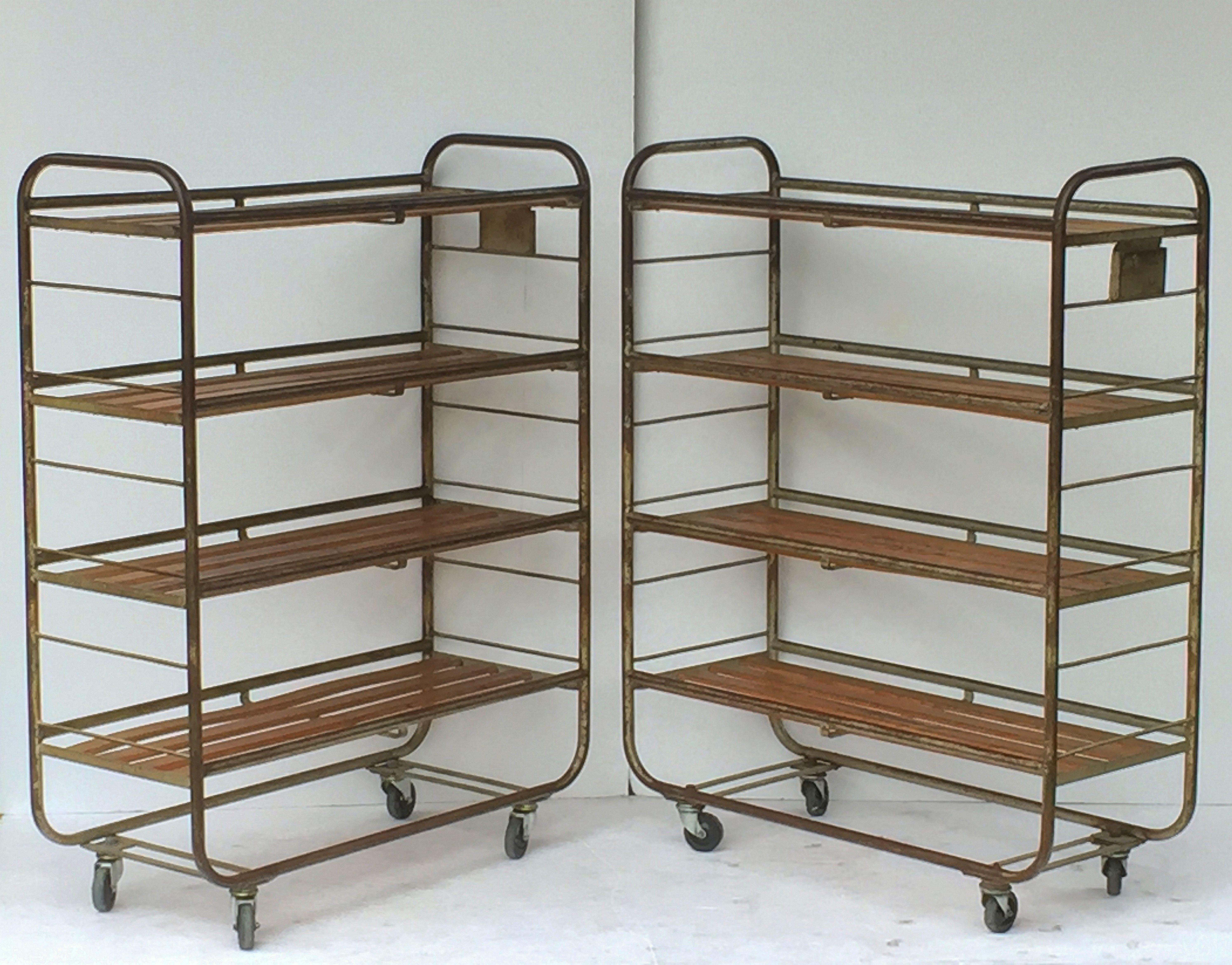 a urban made hand shelf industrial rolling top by with rack buy ednafaye garment custom