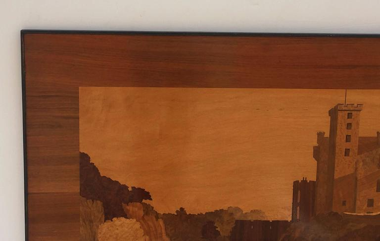 Large Scottish Marquetry Panel of Dunvegan Castle 5