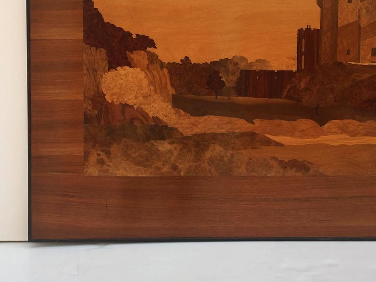 Large Scottish Marquetry Panel of Dunvegan Castle 7