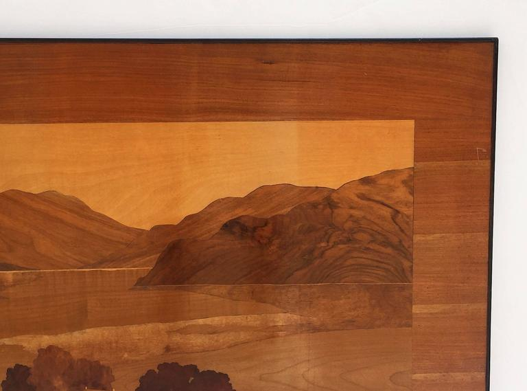 Large Scottish Marquetry Panel of Loch Fyne, Argyll 6