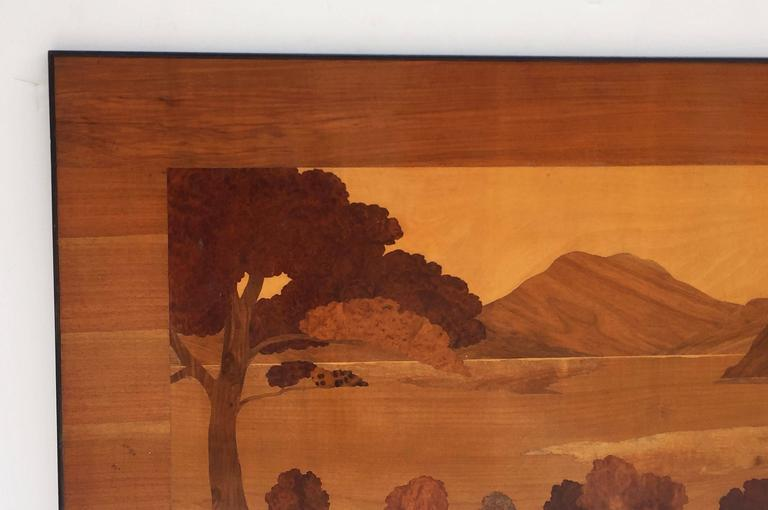 Large Scottish Marquetry Panel of Loch Fyne, Argyll 5