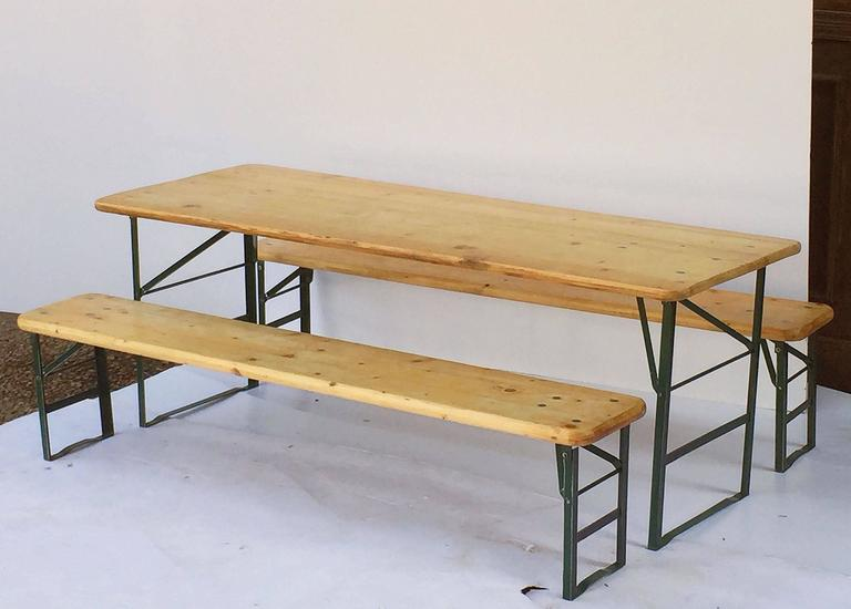 Bavarian Children\'s Table and Bench Set Including Table and Two ...