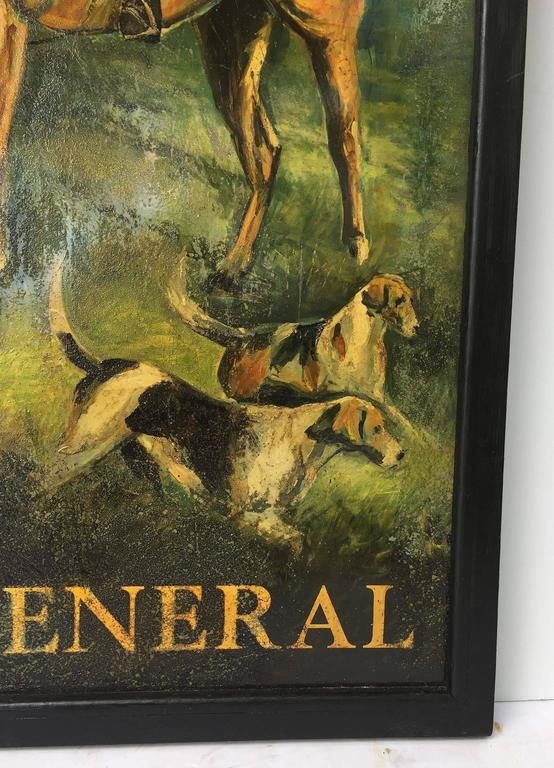"English Pub Sign, ""Old General"" For Sale 1"