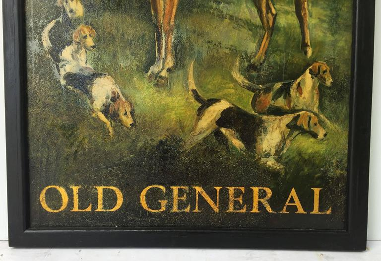 "English Pub Sign, ""Old General"" For Sale 4"