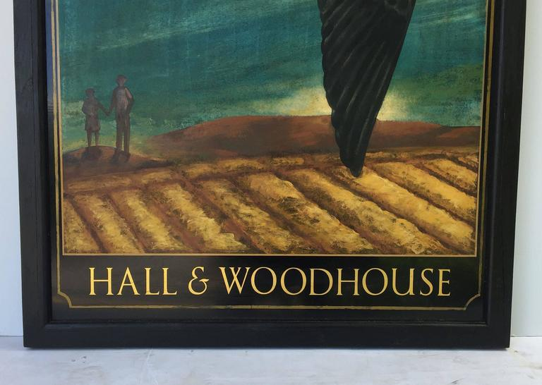 English Pub Sign, Hall & Woodhouse 'Swallow' For Sale 5