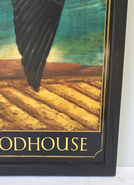 English Pub Sign, Hall & Woodhouse 'Swallow' For Sale 2