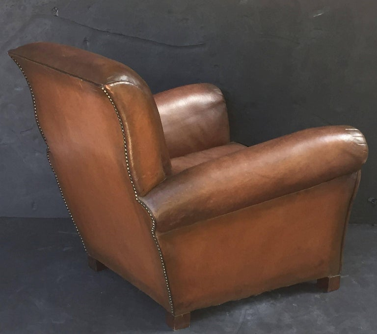 French Leather Club Chairs 5