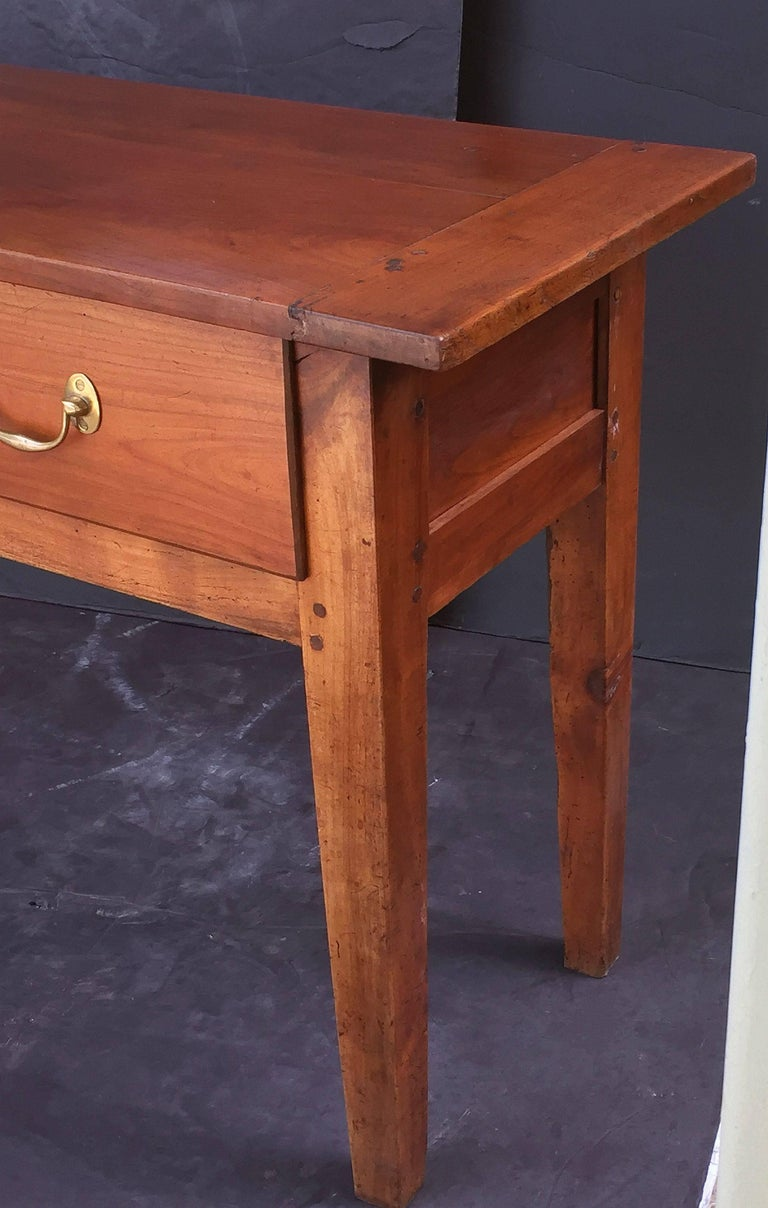 French Console Server or Sideboard of Cherry 7
