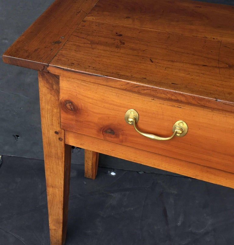 French Console Server or Sideboard of Cherry 5