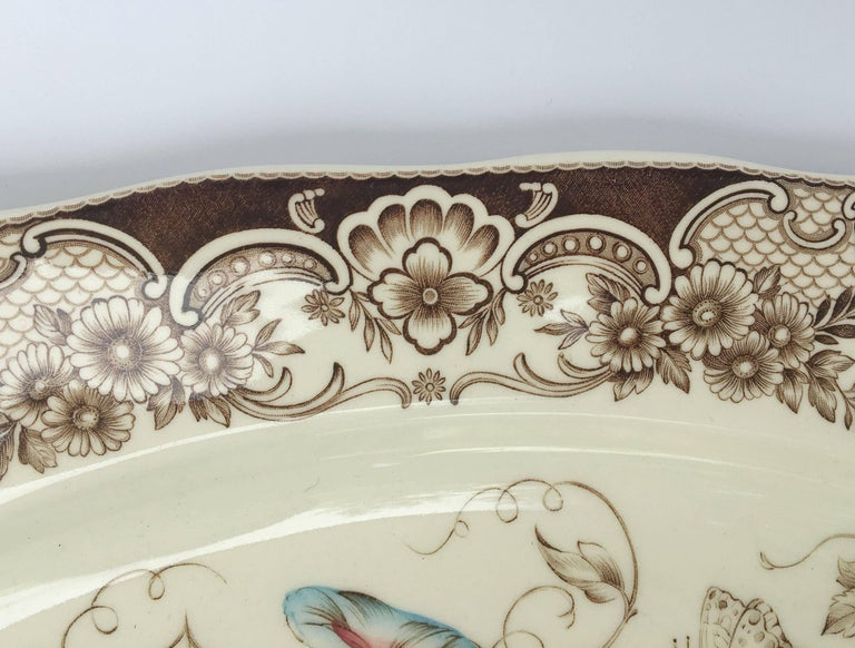 English Transferware Large Platter, Harvest Fruit Pattern by Johnson Brothers 4