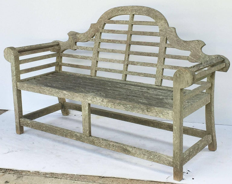 Lutyens Style Garden Bench Seat Of Teak From England At
