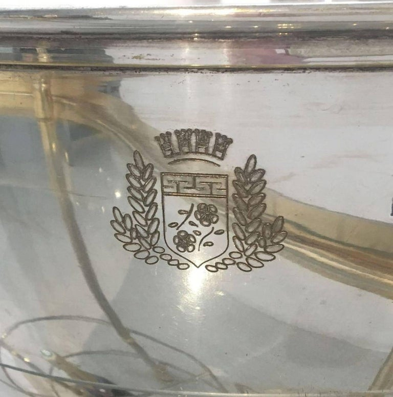 Art Deco Champagne Bar Cart by Pommery For Sale 4