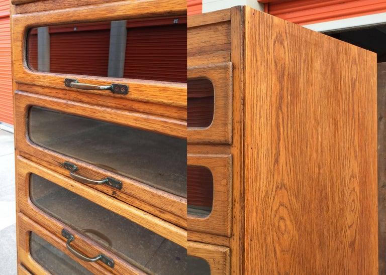 Pair of English Haberdashery Cabinets 8