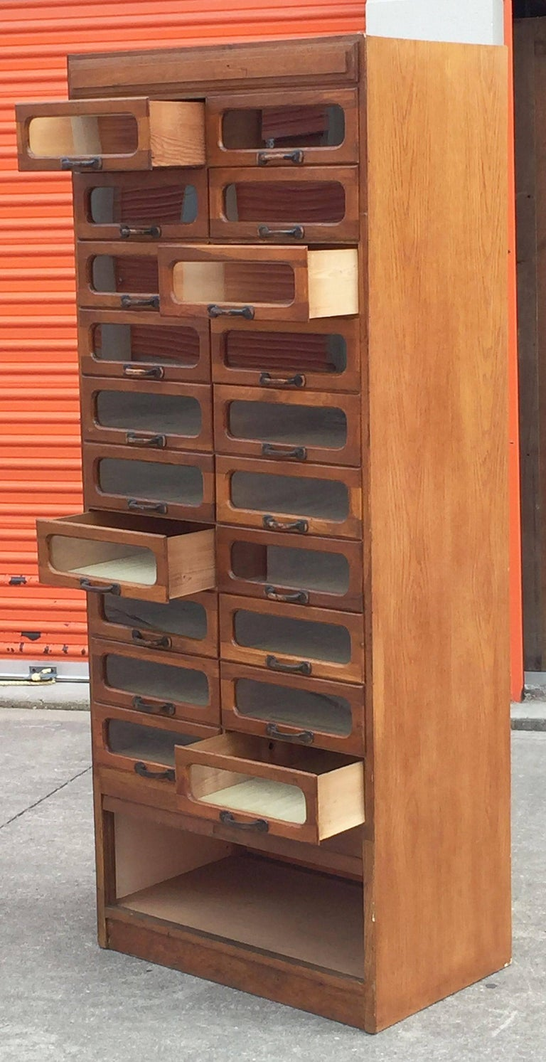 Large English Haberdasher's Cabinet For Sale 1