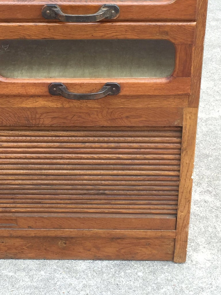 Large English Haberdasher's Cabinet For Sale 5
