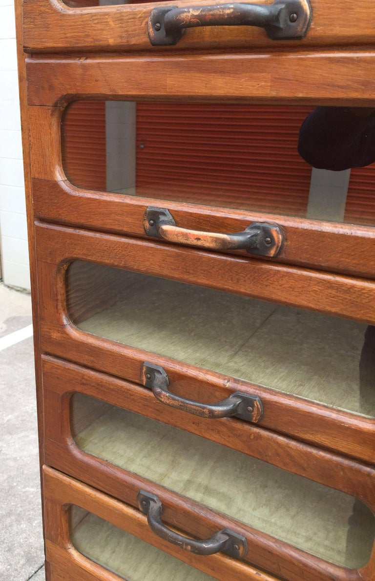 Large English Haberdasher's Cabinet For Sale 4