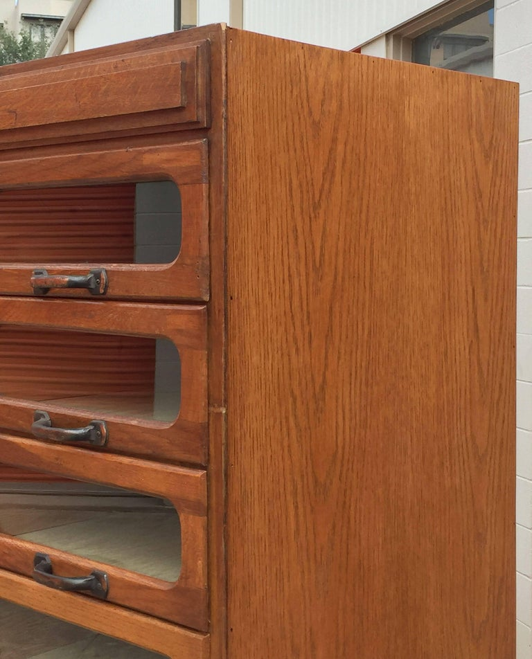 Large English Haberdasher's Cabinet For Sale 2