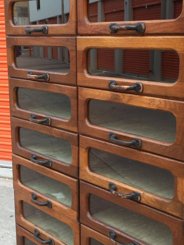 Large English Haberdasher's Cabinet For Sale 3