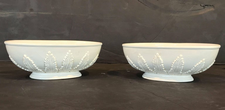 Pair of Italian Fruit Bowls with Lids 10