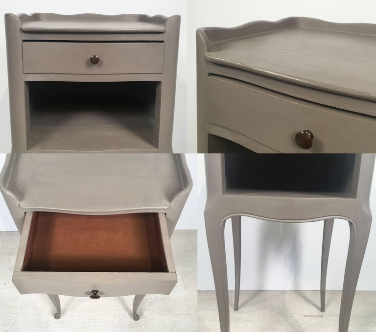French Painted Side Tables or Nightstands 'Individually Priced' For Sale 1