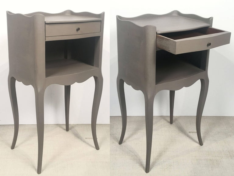French Painted Side Tables or Nightstands 'Individually Priced' For Sale 4