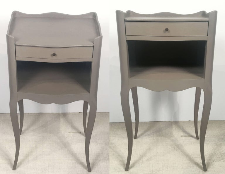 French Painted Side Tables or Nightstands 'Individually Priced' For Sale 3