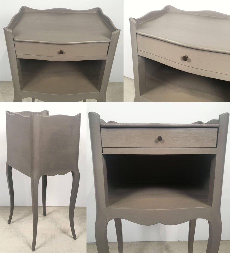 French Painted Side Tables or Nightstands 'Individually Priced' For Sale 5