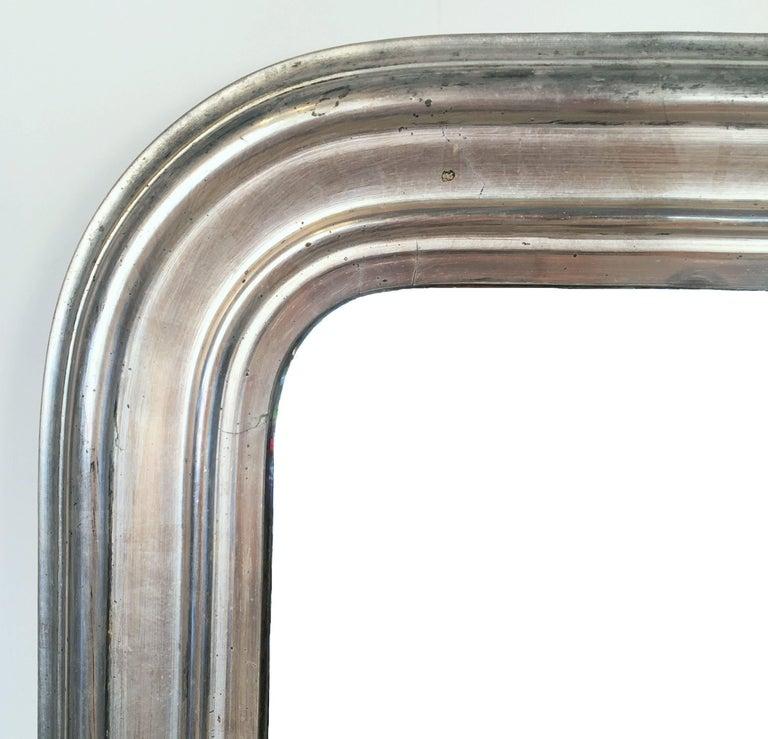 Silver Gilt Louis Philippe Mirror 2
