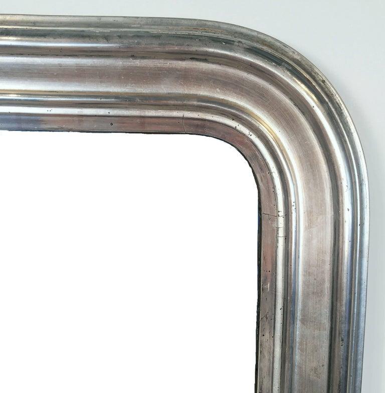 Silver Gilt Louis Philippe Mirror 4