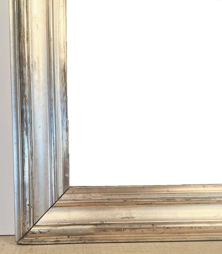 Silver Gilt Louis Philippe Mirror 8