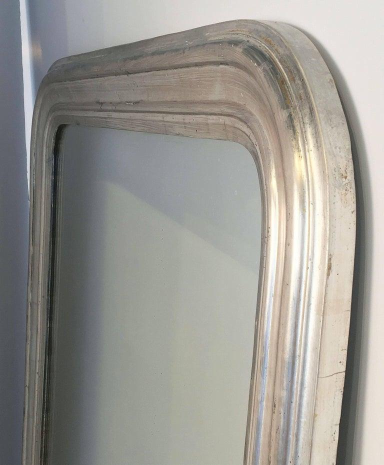 Silver Gilt Louis Philippe Mirror 10