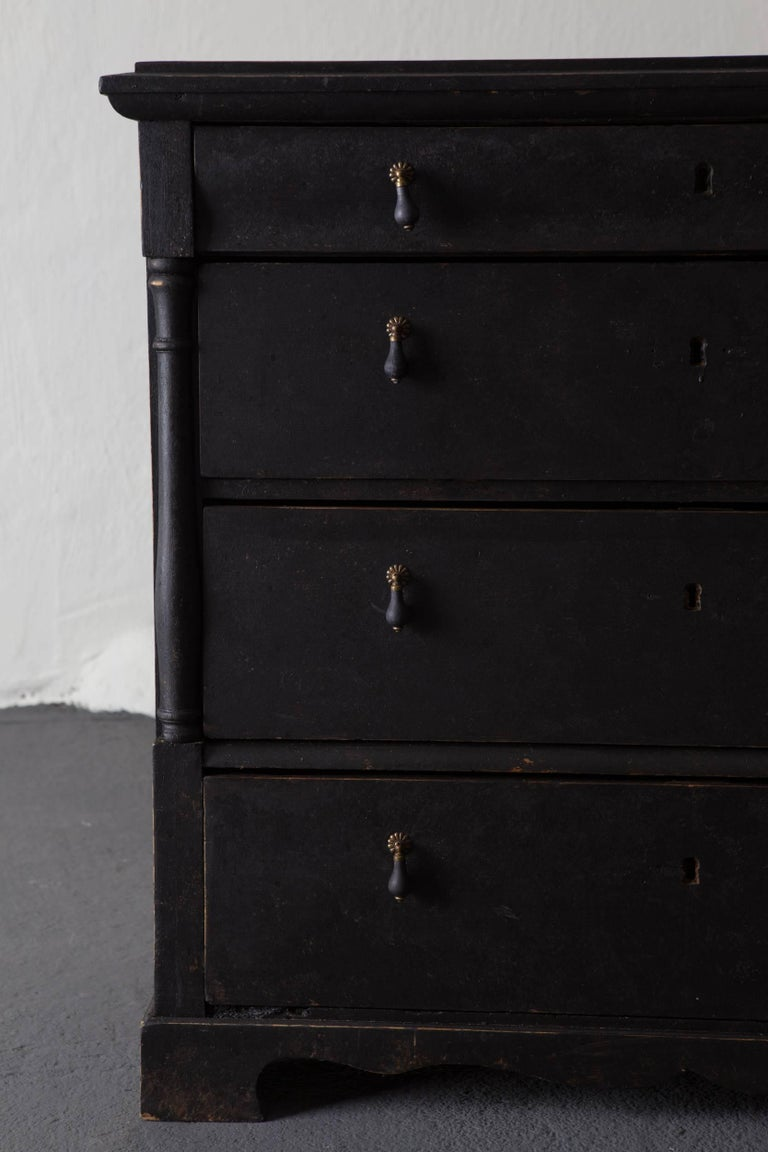 Neoclassical Chest of Drawers Swedish, 19th Century, Sweden For Sale